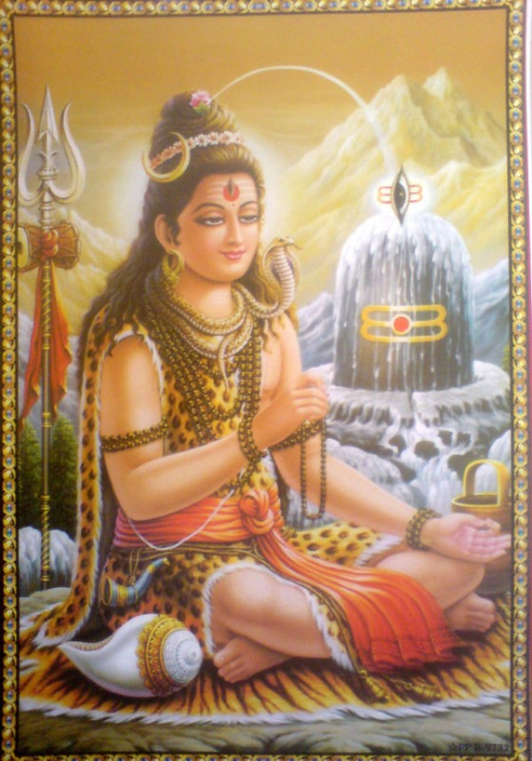 God Shiva and his greatest invention the lingam.